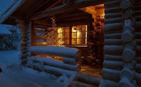 winter houses christmas finland macro wallpaper 10069