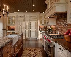 easy to install backsplashes for kitchens best 25 kitchens with brick backsplash ideas on