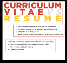 is cv what is the difference between cv and resume quora