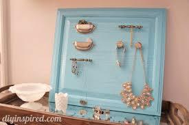 Repurpose Cabinet Doors Repurposed Cabinet Turned Jewelry Organizer Diy Inspired