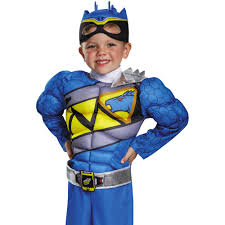 blue dino charge power ranger toddler halloween costume walmart com