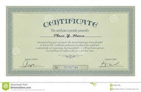 printable stock certificate template