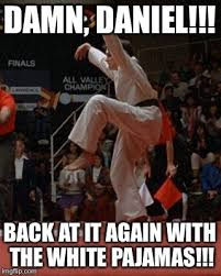 Meme Karate - karate kid imgflip