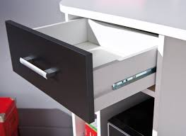 Schreibtisch Schwarz Links 13300200 Schreibtisch Eckschreibtisch Weiß Schwarz