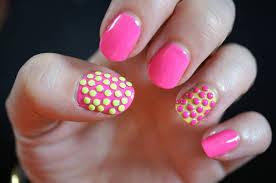 55 most stylish yellow and pink nail art design ideas