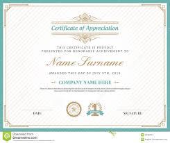 site deco vintage vintage retro art deco frame certificate background template stock