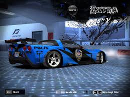 police corvette stingray need for speed most wanted cars by chevrolet nfscars