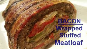 america s test kitchen meatloaf bacon wrapped stuffed meatloaf bam youtube