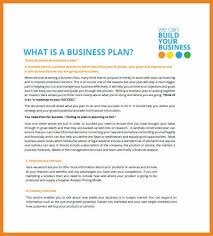 sample small business plans free examples of business proposals