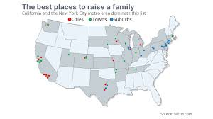 New York State Map With Cities And Towns by These Are The Best Places To Raise A Family Marketwatch