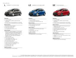 toyota car specifications 2015 toyota yaris brochure vehicle details specifications los