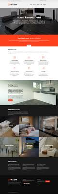Remodeling WordPress Theme - Interior home remodeling