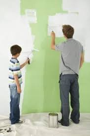 how to paint over a red wall blank canvas diy paint red