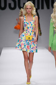moda donna moschino moda donna ss 2015 collection