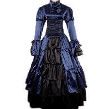 Victorian Style Halloween Costumes Aliexpress Buy Victorian Gothic Dress Civil War Costume