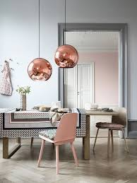 Contemporary Pendant Lighting For Dining Room Grey Beige Gold Turquoise Copper Bronze Dining Room Contemporary