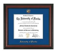of illinois diploma frame 8 best of florida diploma frames images on