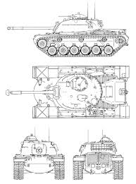 Blueprints Free by M48 Patton Blueprint Download Free Blueprint For 3d Modeling