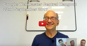 Webmaster by Google Webmaster Central Hangout Archives Deepcrawl