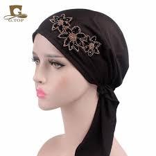 aliexpress com buy new fashion beaded flower stretchy pre tied