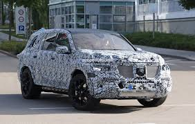 mercedes size suv spyshots 2019 mercedes gls has the right size for a three