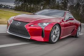 pictures of lexus lf lc lexus rolls out the big guns new 467bhp lc 500 coupe revealed in