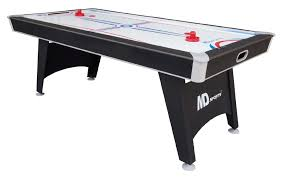 84 air hockey table md sports 1418432 tournament cup 7 ft air hockey table with