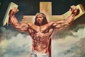 Muscle Memes - buffed jesus jesus know your meme
