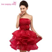 Wine Colored Bridesmaid Dresses Online Get Cheap Wine Color Bridesmaid Dresses Aliexpress Com