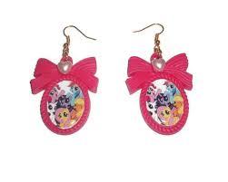 my pony earrings my pony earrings kawaii friendship is magic pony
