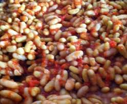 cuisiner des flageolets secs flageolets à la tomate épicés recette de flageolets à la tomate
