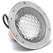amerlite pool light parts pentair 78458100 amerlite 120v 500w 50 cord with stainless steel