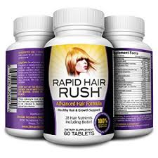 natural hair growth stimulants amazon com rapid hair rush natural hair growth pills hair
