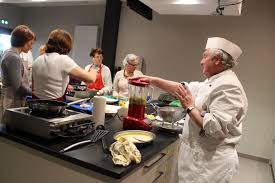 cours de cuisine meaux atelier culinaire tartare de dorade creme glacee a la moutarde de