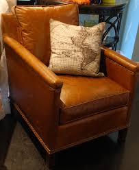 Leather Furniture Chairs Design Ideas Tan Leather Occasional Chair Eufabrico Com