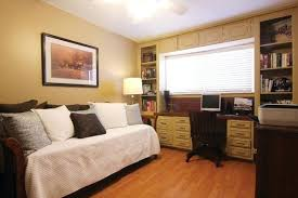 home office in bedroom small home office guest bedroom ideas modern concept small guest