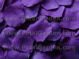 silk petals petal garden silk petals purple