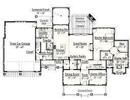 extraordinary single story house plans with 2 master suites ideas