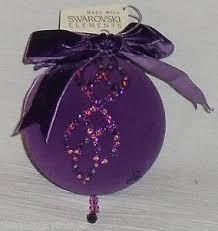 hsn cares 2010 mangano swarovski ornament box free us ship