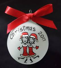 friends personalized christmas ornaments best friendbest