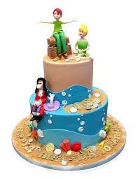 tinkerbell cakes captain hook tinker bell pan cake cmny cakes
