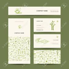 Massage Therapy Business Cards Business Cards Design Massage And Spa Concept Royalty Free