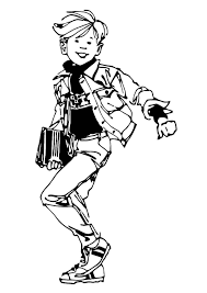 coloring page student img 11436
