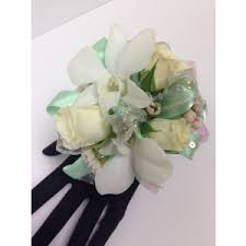 Mint Green Corsage Prom Flowers Lopshire Flowers Fort Wayne In 46815 Florist
