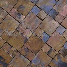 Copper Tiles For Kitchen Backsplash 3d Copper Tile In Bronze Brushed For Kitchen Backsplash Wall Tile