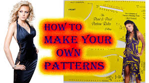how to make your own patterns and design youtube