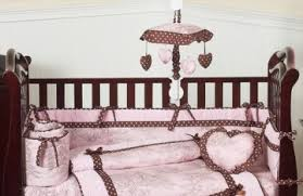Pink Brown Crib Bedding Pink Brown Baby Bedding Jojo Designs Bed Linen Gallery