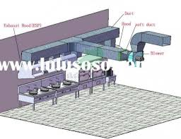 commercial kitchen hood design commercial kitchen hood drawings
