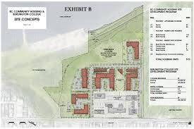 plans for former burlington college land up for city council