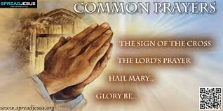 christian prayer common christian prayers the sign of the cross the lord s prayer